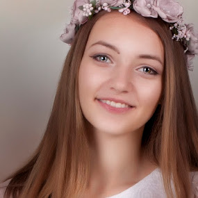 Rumi by Anna Anastasova - People Portraits of Women ( girl, beautiful, blue eyes, portrait, wonderful,  )