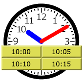 Clock reading drill