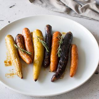 Honey Roasted Carrots with Rosemary