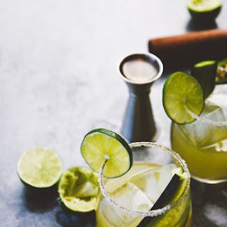 Mint Cucumber + Smoky JalapeñO Margaritas Recipe