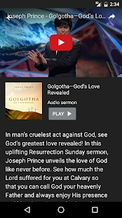 Joseph Prince- screenshot thumbnail