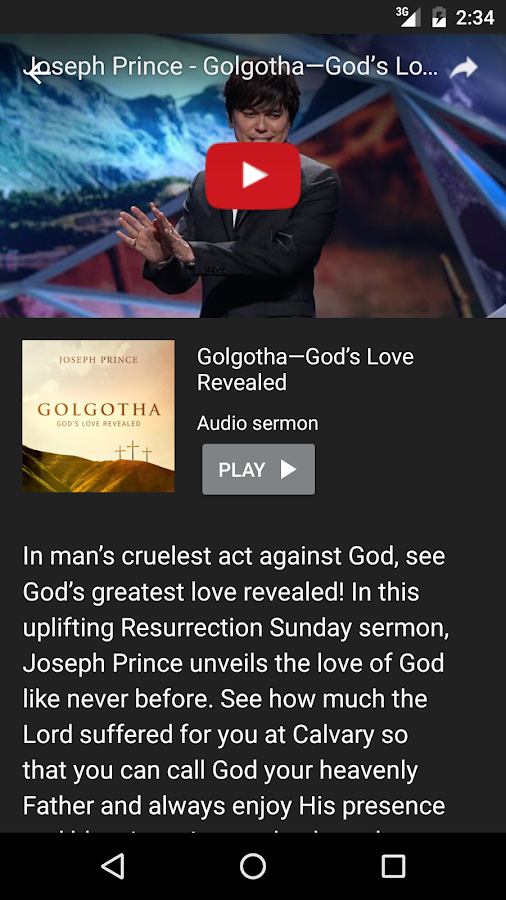 Joseph Prince- screenshot