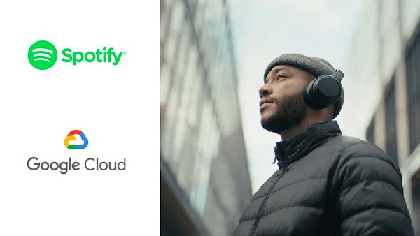 Google Cloud et Spotify