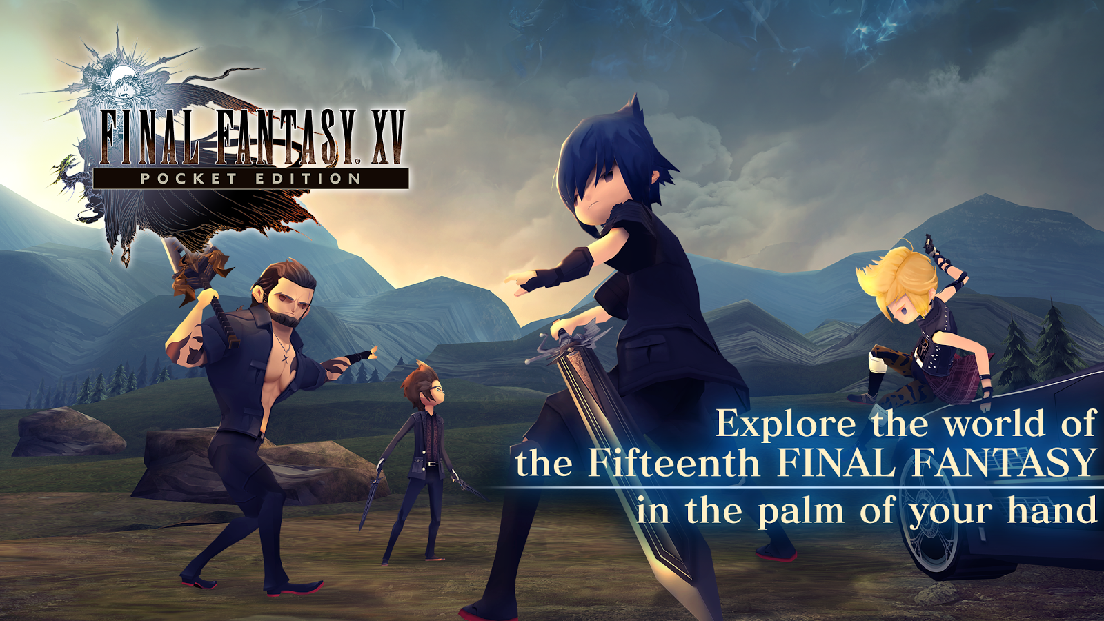 Image result for Final Fantasy XV: Pocket Edition