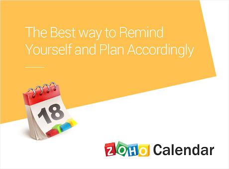 Zoho Calendar