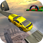 Impossible Taxi Driving Simulator Tracks Icon