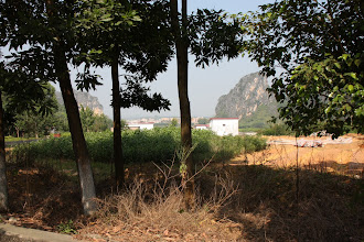 Photo: Day 208 - Limestone Pinnacles in SW Guangdong Province (View from the Road)