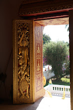 Photo: Day 269 - Doorway  in the Royal Palace in Luang Prabang