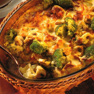 Ham Vegetable Casserole
