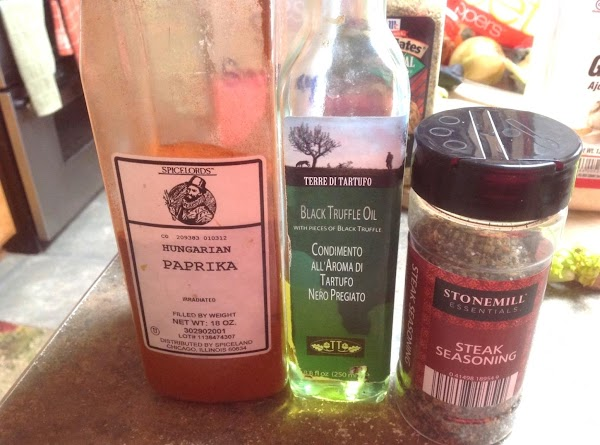 Remaining ingredients used in recipe.