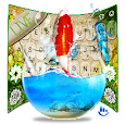 Live 3D Koi Fish Keyboard Theme apk
