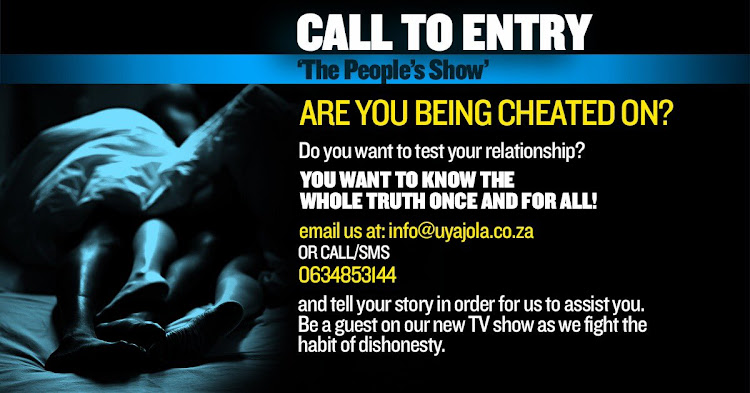Cheaters to soon hit South African television screens.