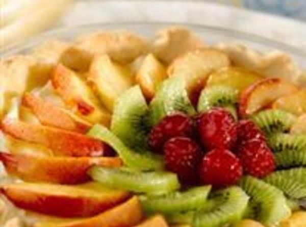 Fresh Fruit Tart With Shortbread Crust