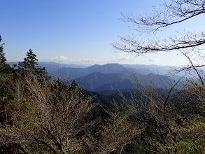 仙千代ヶ峰(中央)方面