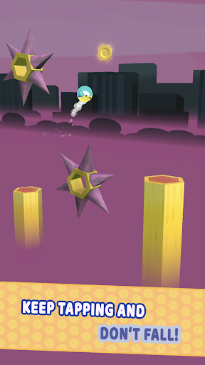 Bounce that Bird - Free Arcade Platform Game android2mod screenshots 5