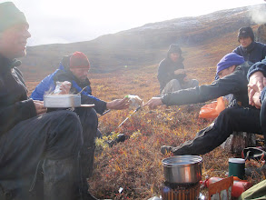 Photo: Greenland - Rest during Day 5