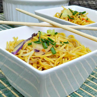Easy Chow Mein Noodles