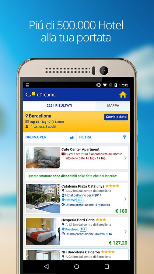 eDreams - Voli, Hotel e Auto- screenshot