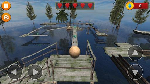 Code Triche Balancer Ball 3D: Rolling Escape  APK MOD (Astuce) screenshots 2