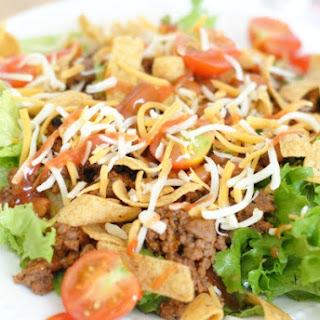 Easy Taco Salad.