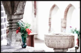 Photo: spätmittelalterliche, gotische Dorfkirche aus dem 13. Jht. in Basse, Landkreis Rostock, Mecklenburg-Vorpommern