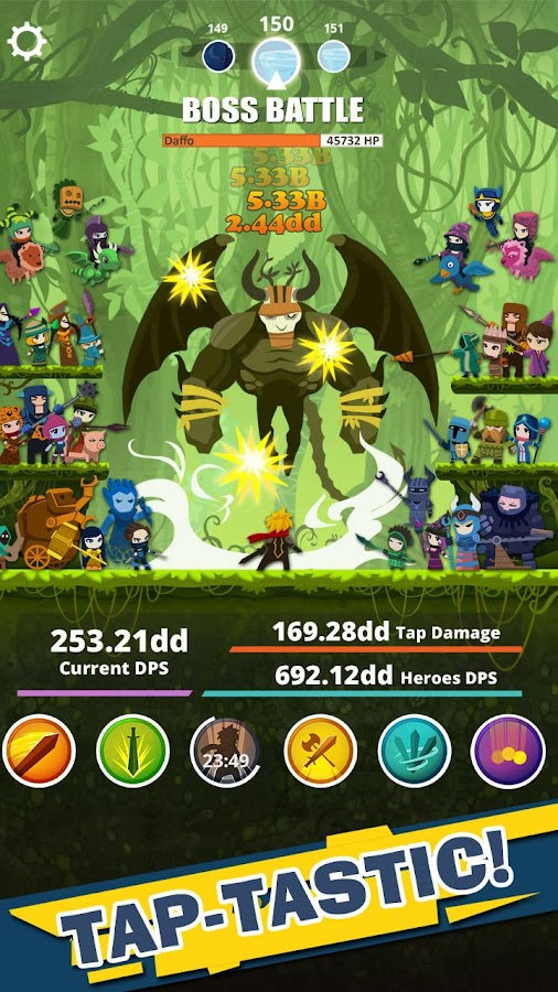 Screenshots of Tap Titans for iPhone