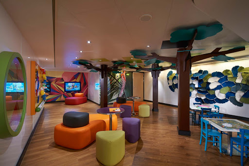Norwegian-Escape-Splash-Academy - For the kids: Creative play is on the menu at Norwegian Escape's Splash Academy.