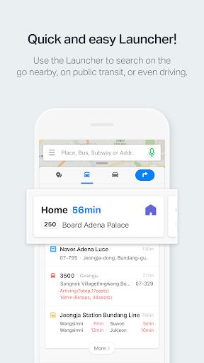 NAVER Map screenshot 1