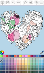 Mandalas coloring pages (+200 free templates) APK screenshot thumbnail 19