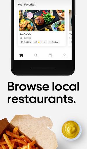 Uber Eats: Local Food Delivery 1.196.10002 screenshots 2