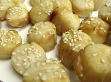 Honey Broiled Sea Scallops Recipe