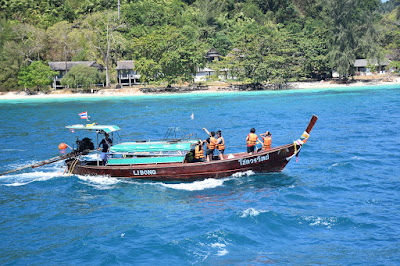Travel from Krabi to Koh Ngai by shared minivan and longtail boat