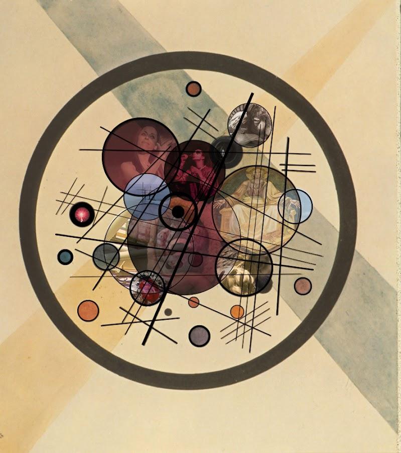 CERCHI (di emozioni) NEL CERCHIO (di Kandinskij) di giragiu