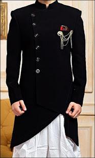 Download Latest Fashion Men Sherwani Photo Suit For PC Windows and Mac apk screenshot 2