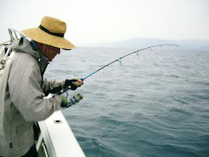Photo: スーパー釣り師!井上さんは、ジギングで!