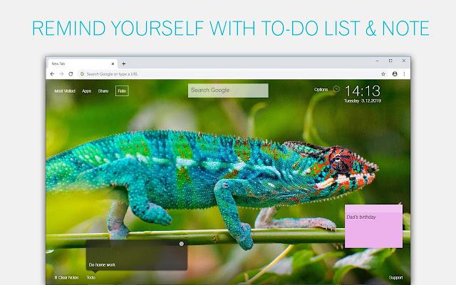 Chameleon Wallpaper Custom Chameleons New Tab