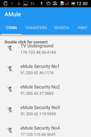 Screenshot for Mule for Android in Hong Kong Play Store