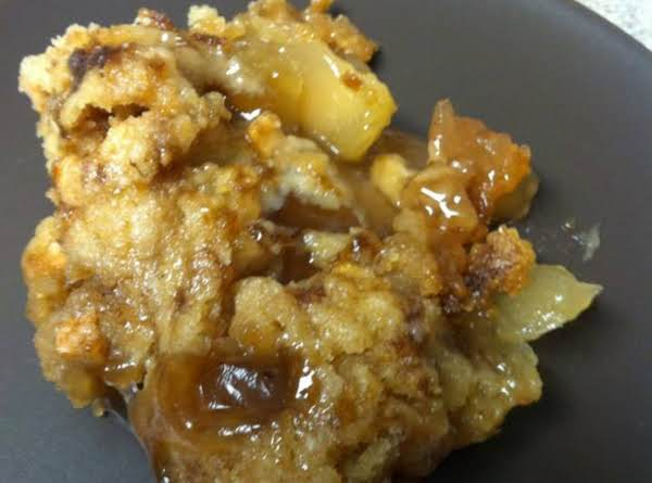 A Dessert Cooked In The Crockpot Recipe