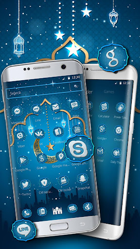 Ramadan kareem Mobile Theme 1.1.0 screenshots 2