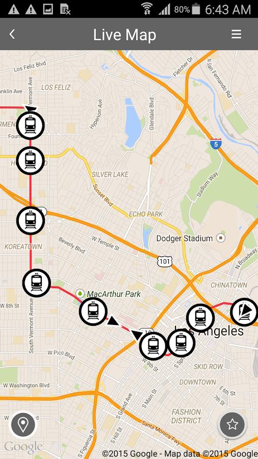 Go Metro Los Angeles - screenshot