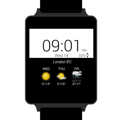 Transparent clock & weather  screenshots 29
