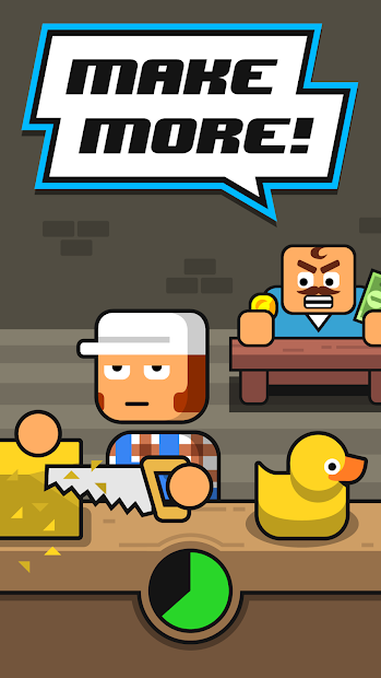 Make More! – Idle Manager Android App Screenshot