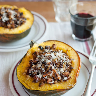 How To Make Stuffed & Roasted Squash.