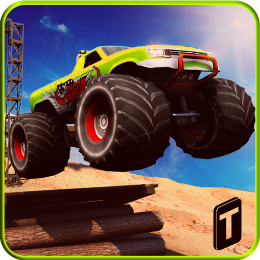 Monster Truck Rider 3D 賽車遊戲 App LOGO-硬是要APP