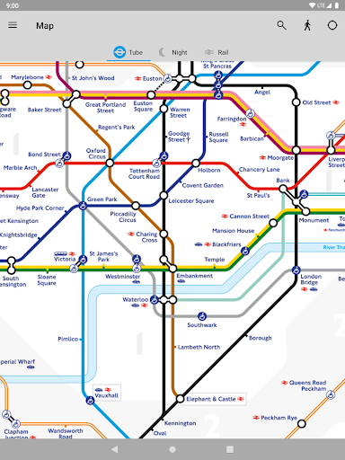 Tube Map - TfL London Underground route planner 5.9.5 Screenshots 12