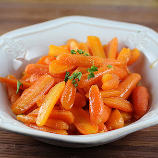 Ginger Glazed Carrots.