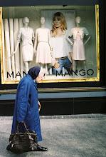 Photo: Nun walking past shop window #photography #Dublin #streetphotography #film