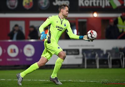 """Le conseil d'un ancien gardien du Club à Mignolet : """"Finir sa carrière à Bruges"""""""