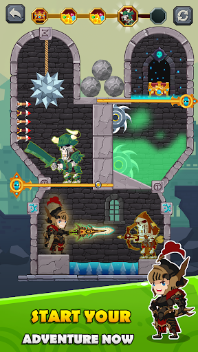 How to Loot - Pin Pull & Hero Rescue apkmr screenshots 16