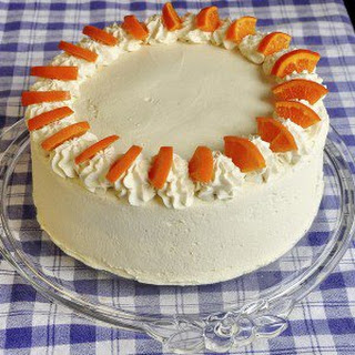 Easy Orange Creamsicle Cake.